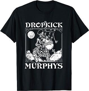 Dropkick Murphys Official Merchandise - Skeleton Piper T-Shirt