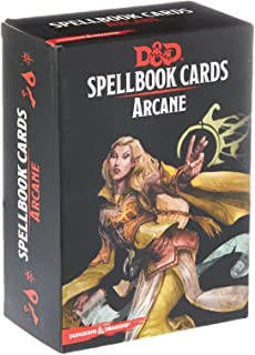 Dungeons & Dragons - Spellbook Cards: Arcane (257 cards)