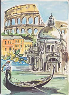 Home Lines S S Oceanic Sun Way Cruise Bermuda Nassau Italian Menu 10/24 1980