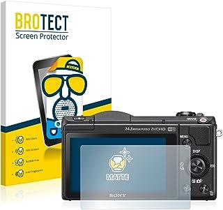 brotect Pellicola Vetro Opaca Compatibile con Sony Alpha 7 AirGlass ILCE-7 3 Pezzi Protezione Schermo Anti-Riflesso Durezza 9H