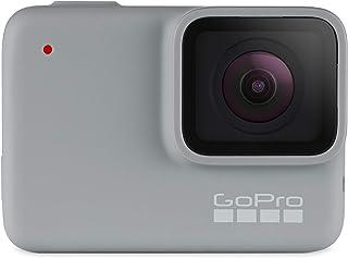 GoPro HERO7 Vit - Vattentät digital actionkamera med pekskärm, 1440p HD-videor, 10 MP-foton