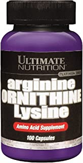 arginine/ornitine/lysine アルギニン オルニチンリジン 100カプセル [米国より直送 (送料込み)