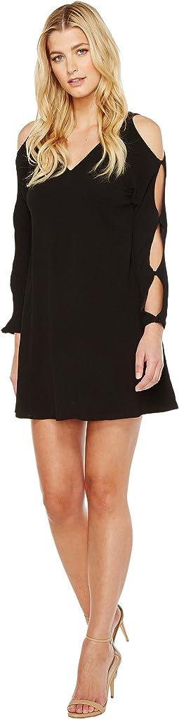 Brigitte Bailey - Roan Long Sleeve Cold Shoulder Dress