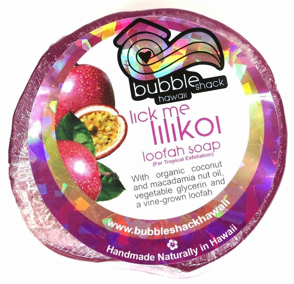 欺く平衡健全ハワイアン雑貨/ハワイ 雑貨【バブルシャック】Bubble Shack Hawaii ルーファーソープ(リックミーリリコイ) 【お土産】