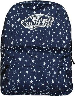 VANS Realm Backpack Medieval Blue Stars Schoolbag...