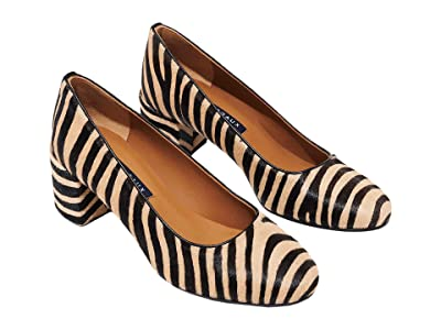 Margaux The Heel (Zebra Haircalf) Women