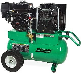 Speedaire 20 gal. 9.0 HP Barrel Portable Gas Air Compressor Includes Regulator and 2 Gauges 4GB45-1 Each