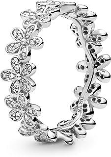 Pandora Women's Sterling Silver Cubic Zirconia 925 Silver Ring, 56 EU - 190934CZ-56