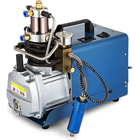 Topqsc 300bar 30mpa 4500psi Hochdruck Druckluftpumpe Elektrischer Luftkompressor Pcp Luftpumpe Für Normale Auto Und Fahrradreifen Airgun Scuba Rifle Baumarkt