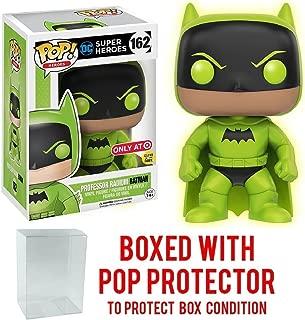 Funko Pop! DC Heroes - Professor Radium Batman Glow In The Dark Exclusive #162 Vinyl Figure (Bundled with Pop BOX PROTECTOR CASE)