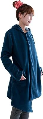 NuKME(ヌックミィ) 袖つきマイクロファイバー毛布 アクティブスタイル すっきりスリム ネイビー