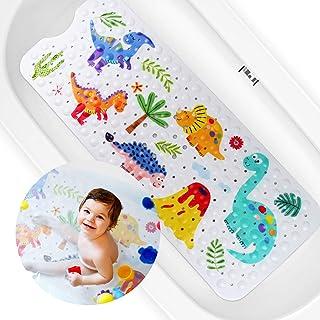 Alfombra de Bañera Antideslizante, Alfombrilla Antideslizante para Bañera para Niños, Alfombra de Baño Extra Larga con 200...