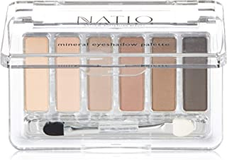 Natio Mineral Eyeshadow Palette - Nudes, Nude, 6 g