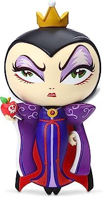 Enesco World of Miss Mindy Disney Villains Snow White Evil Queen Figurine, 7 Inch, Multicolor