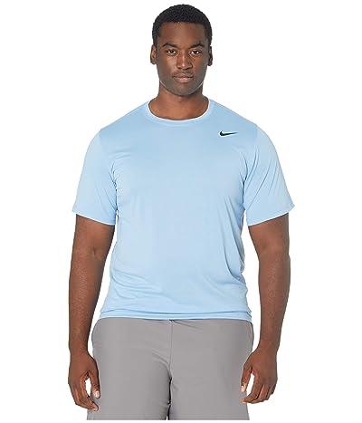 Nike Big Tall Legend 2.0 Short Sleeve Tee (Light Blue) Men