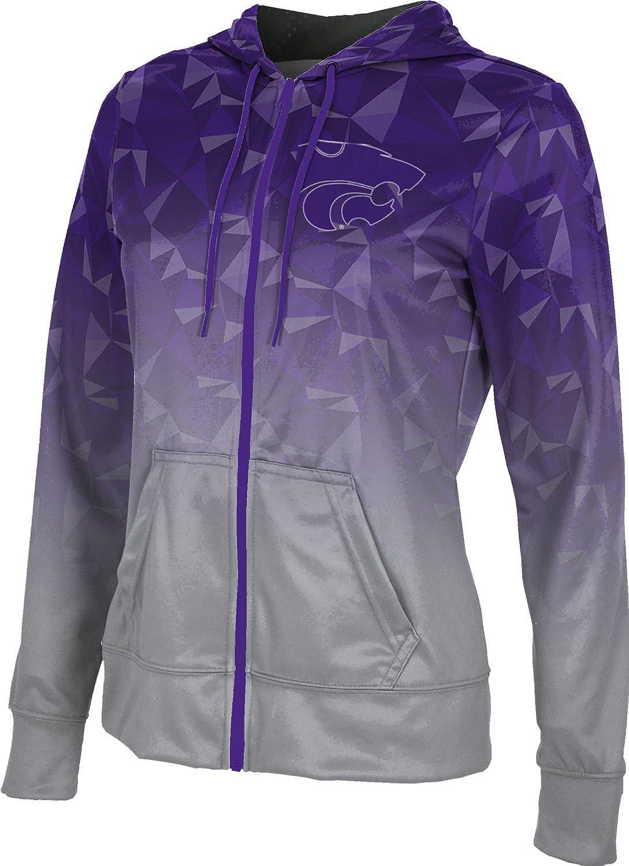 ProSphere Kansas State University Girls' Zipper Hoodie, School Spirit Sweatshirt (Maya)