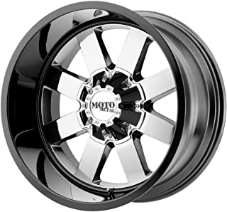 Moto Metal MO962 20x9 Chrome Black Wheel / Rim 6x135 with a 0mm Offset and a 87.10 Hub Bore. Partnumber MO96229063900