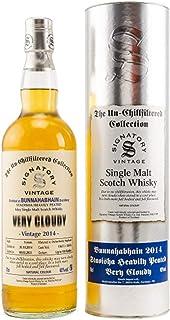 Bunnahabhain STAOISHA 2014 Heavily Peated Islay Single Malt Whisky Signatory Vintage Very Cloudy 1x0,7l