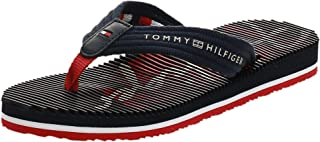 Tommy Hilfiger SIGNATURE FOOTBED BEACH SANDAL Women's Fashion Sandals