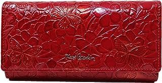 PIERRE CARDIN Damen-Geldbörse, schön, groß, geräumig, Leder, Rfid, Geschenk, Geldbörse mit Geldbörse, Geldbörse für Mädche...