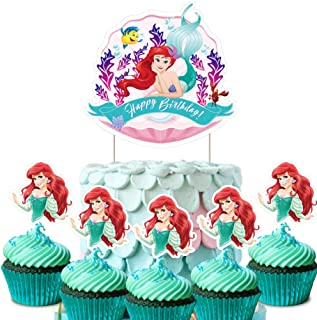 Surprising Best Ariel Birthday Cakes Of 2020 Top Rated Reviewed Funny Birthday Cards Online Alyptdamsfinfo