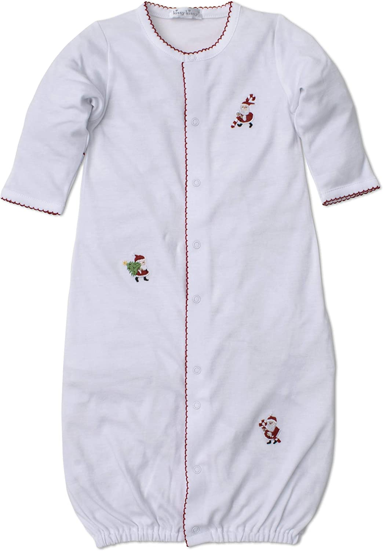 Kissy Kissy Unisex-Baby Infant Kris Kringle Convertible Gown