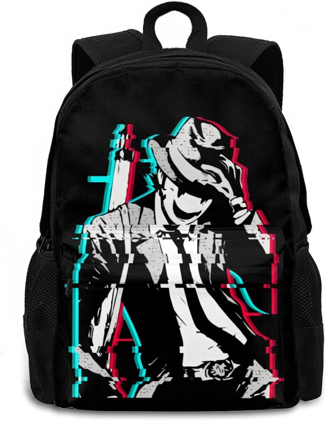 High-Rise Invasion Backpack fun  gift Travel Multi-Function Purchase Laptop
