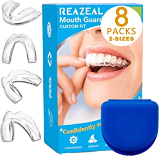 Best Health Professional Dental Guard - Pack of 8 - New Upgraded Anti Grinding Dental Night Guard, Stops Bruxism, Tmj & Eliminates Teeth Clenching Review