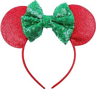 Cute Mouse Ears Headband Hoop Hair Accessories Headdress Hair Accessories for Party Festivals