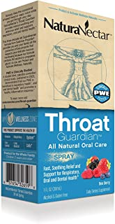 NaturaNectar Bee Propolis Throat Spray - Bee Berry - 30 ml - Throat Guardian for Immune Support, Fast, Soothing Relief - A...