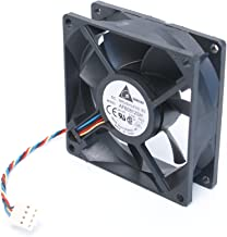 Genuine OEM Original Delta Electronics DC Brushless AFB0812SH 4-Pin 80 x 25 x 80mm Computer Fan Compatible Model Numbers: AFB0812SH