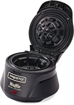 Presto 03500 Belgian Waffle Bowl Maker(Makes a 4-inch waffle,Black)