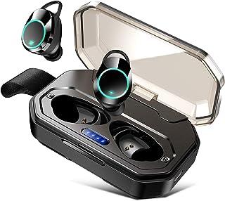 Auriculares inalámbricos Bluetooth 5.0 IPX7 resistentes al agua y altavoz Bluetooth, auriculares Bluetooth, auriculares Bl...