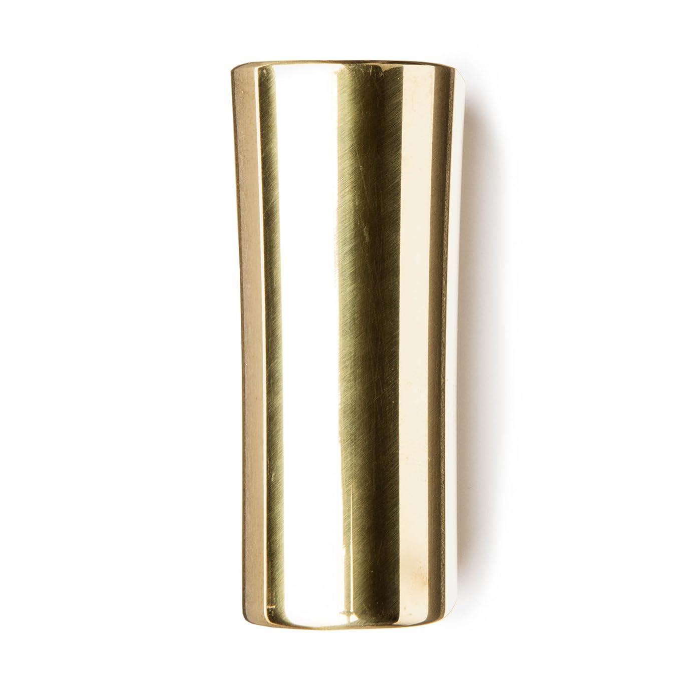 残り物帝国主義発火するJim Dunlop (ジム ダンロップ) 232 ハリス スライドバー ブラス ラージ サイズ Harris Slide Solid Brass Large