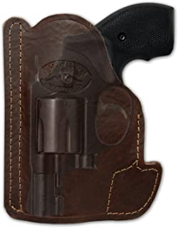 Barsony New Brown Leather Pocket Holster for 2