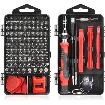 Juego de destornilladores Juego de herramientas de reparación de destornilladores de precisión Juego de destornilladores pequeños magnéticos Herramienta extraíble profesional