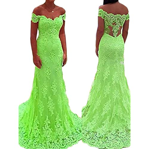 Lime Green Prom Dress: Amazon.com