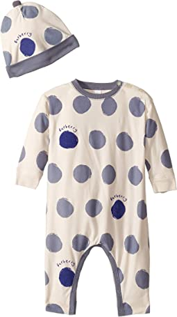 Dots One-Piece with Separate Hat (Infant)