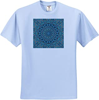 Pastel Green Colors Modern Fractal Design 3dRose Andrea Haase Abstract Art and Design T-Shirts