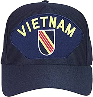 Armed Forces Depot 5th Special Forces 'Vietnam' Baseball Cap. Navy Blue. Made In USA