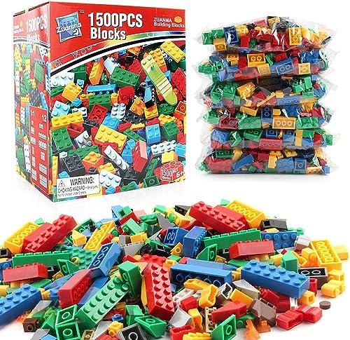 Compra calidad 100% autentica AUMING Juegos de Bloques 1500 PC Building Bricks Stem Kit Kit Kit Educativo de construcción Preescolar de Bloques de construcción Ajustado y Compatible con Todas Las Marcas (Color   Multi-Colorojo)  primera reputación de los clientes primero