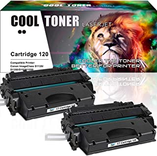 Cool Toner Compatible Toner Cartridge Replacement for Canon 120 CRG-120 Cartridge 120 Canon Imageclass D1550 D1520 D1320 D1120 D1350 D1150 D1370 D1170 D1180 Canon D1520 D1550 Ink Toner Printer 2Pack
