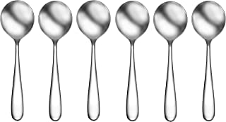 CraftKitchen Open Stock Stainless Steel Flatware Sets (Classic, Soup Spoons Set of 6)