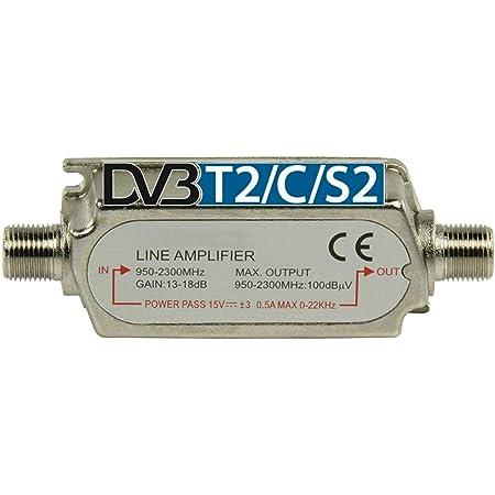 Tronicxl Profi Dvbs2 Dvb S2 Satelliten Leitungsverstärker Elektronik