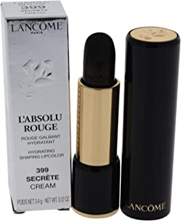 Lancome L'absolu Rouge Hydrating Shaping Lipcolor, Secrete, 0.12 Ounce