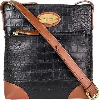 Hidesign Women's Sling Bag(CRO MEL RAN BLACK TAN)
