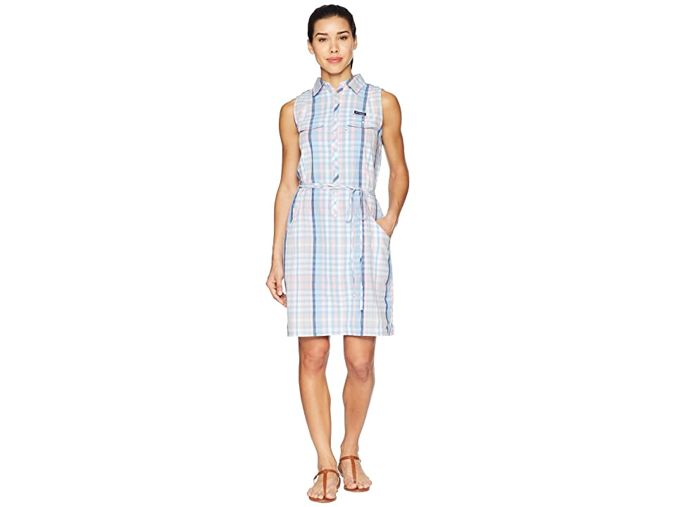 Columbia Super Boneheadtm II Sleeveless Dress (Cherry Blossom Plaid) Women