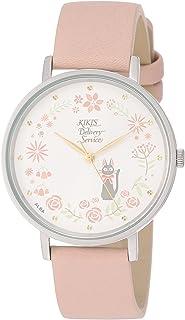 [アルバ]ALBA 腕時計 ALBA 大人ジブリ 魔女の宅急便 ホワイト文字盤 ピンクベージュ革バンド ACCK419