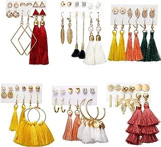 Best coral tassel earrings Reviews