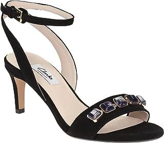 Clarks Women's Amali Opal Leather Fashion Sandals